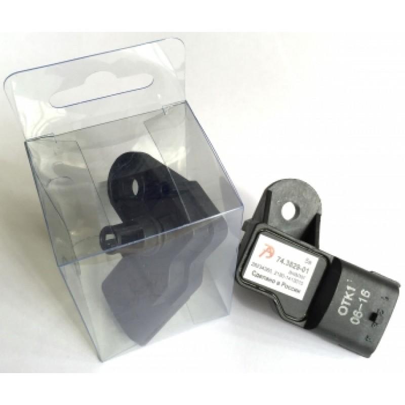 Купить Датчик давления и температуры наддувочного воздуха 74.3829-01